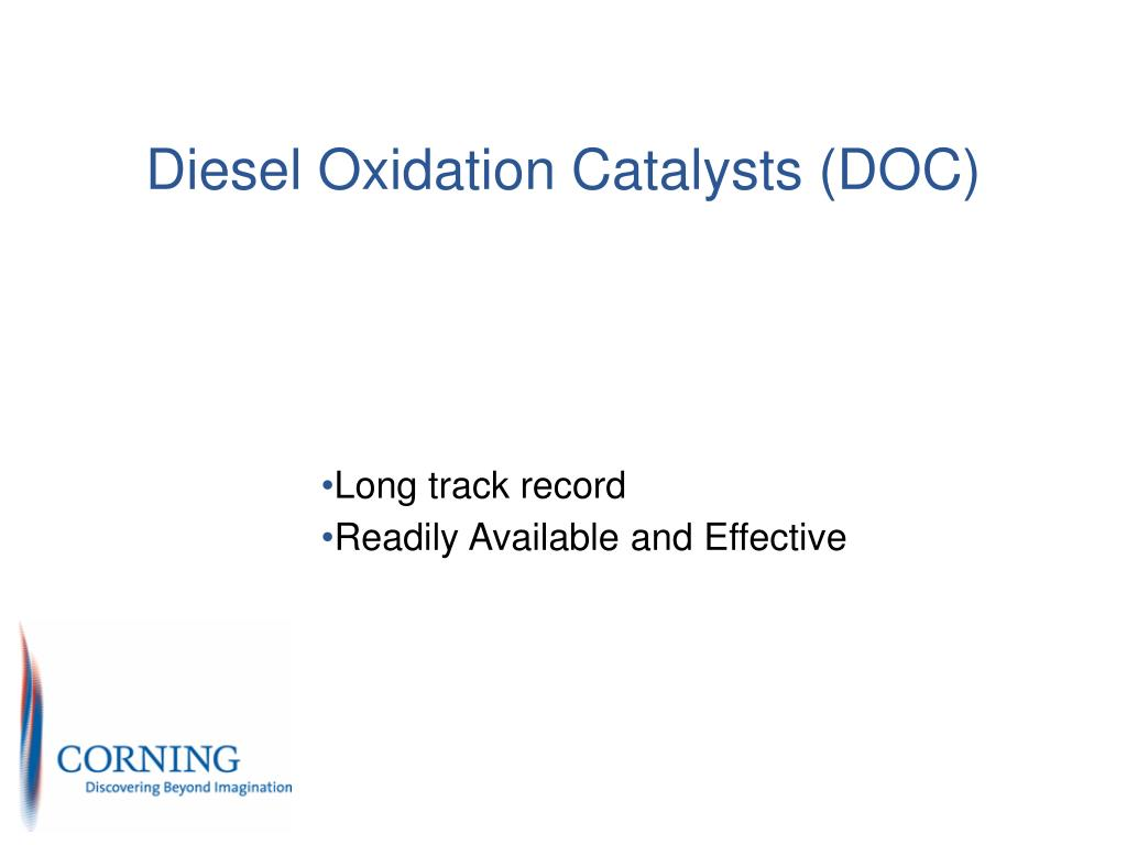 PPT - Overview of Diesel Emission Control Retrofit Options