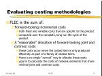 evaluating costing methodologies6