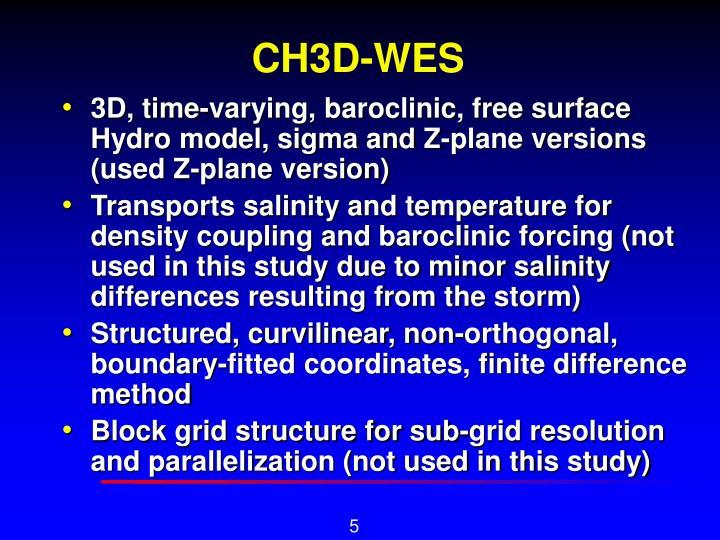 CH3D-WES