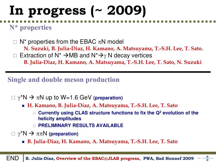 Single and double meson production