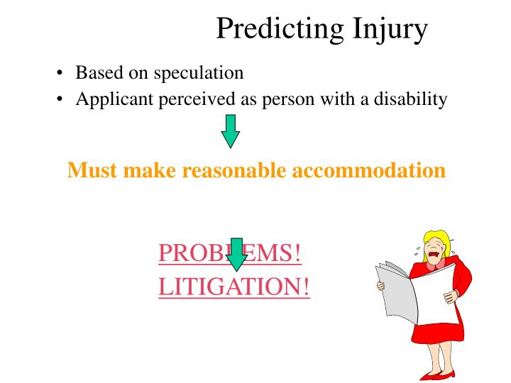 Predicting Injury