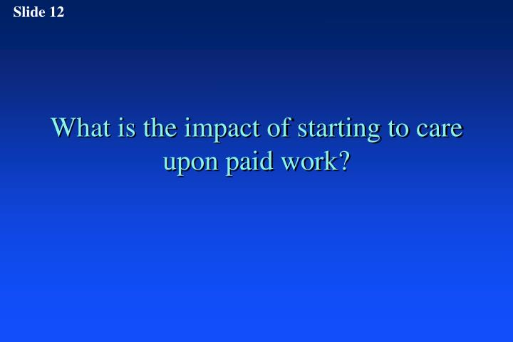 the impact of paid work on Read the impact of term-time paid work on academic performance in nursing students: a longitudinal study, international journal of nursing studies on deepdyve, the largest online rental service for scholarly research with thousands of academic publications available at your fingertips.
