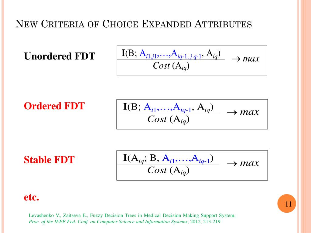 PPT - Decision Making Support System based on FDT PowerPoint