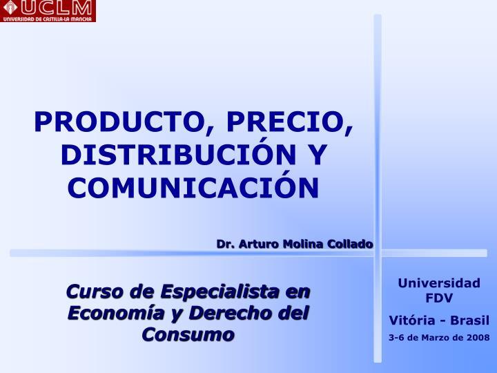 producto precio distribuci n y comunicaci n n.
