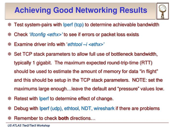 Achieving Good Networking Results