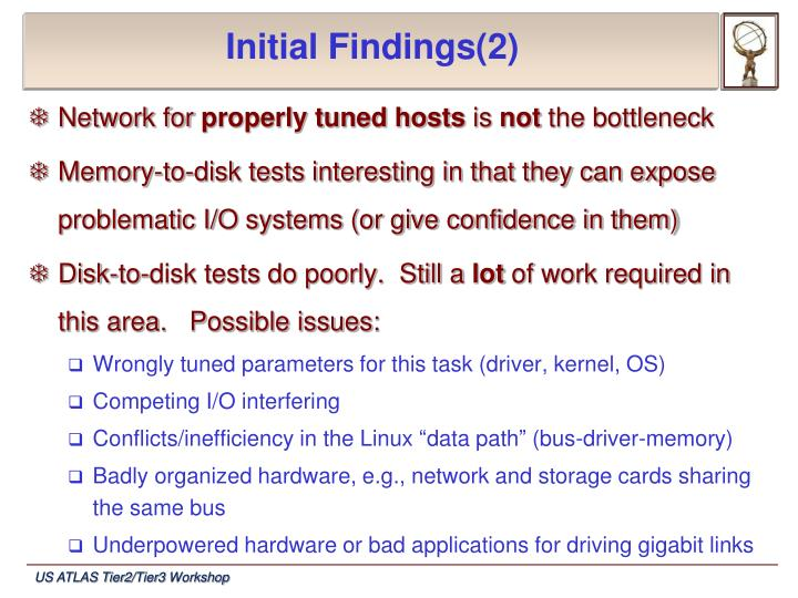 Initial Findings(2)