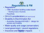regulations fm