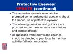 protective eyewear update continued1
