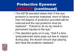 protective eyewear update continued8