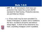 rule 1 6 5