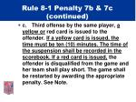 rule 8 1 penalty 7b 7c continued1