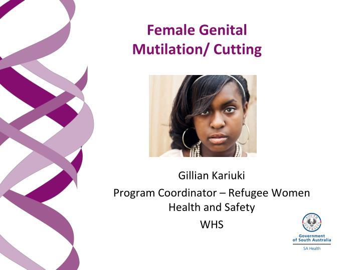 female genital mutilation cutting