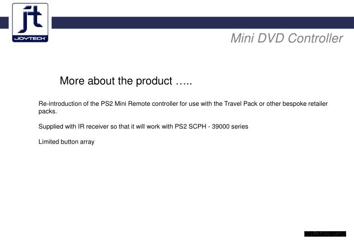 Mini DVD Controller