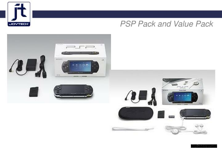 PSP Pack and Value Pack