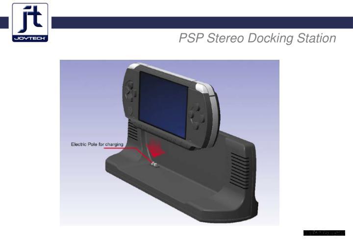 PSP Stereo Docking Station