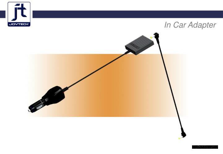 In Car Adapter