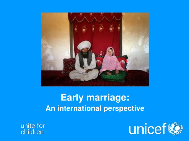 the effects of early marriage among However, early marriage for young girls is considered as a form of violation of human rights, since it compromises the physical, mental, psychological, educational and emotional development of girls this tradition could be a harmful practice and consequently, its harmful effects are many.