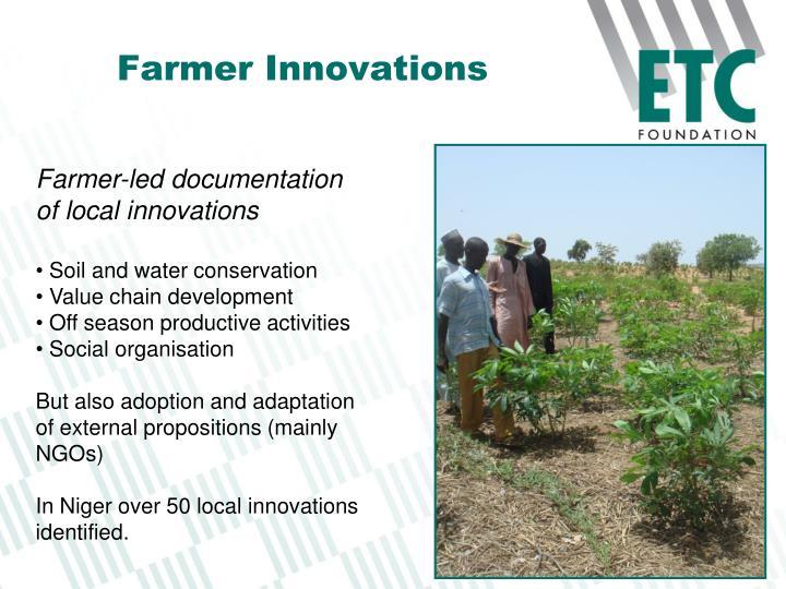 Farmer Innovations