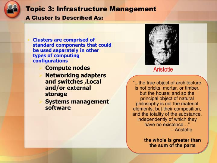 Topic 3: Infrastructure Management