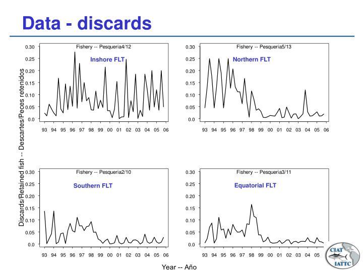 Data - discards