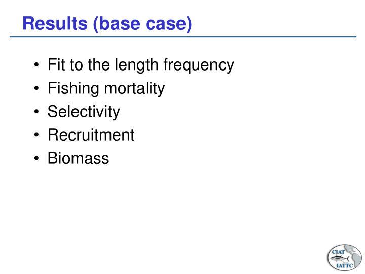 Results (base case)
