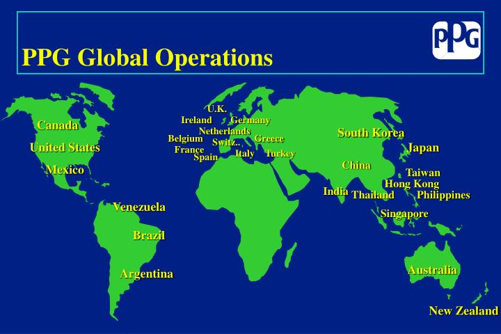 PPG Global Operations