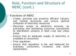role function and structure of nerc cont