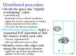distributed procedure