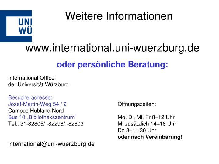 www.international.uni-wuerzburg.de