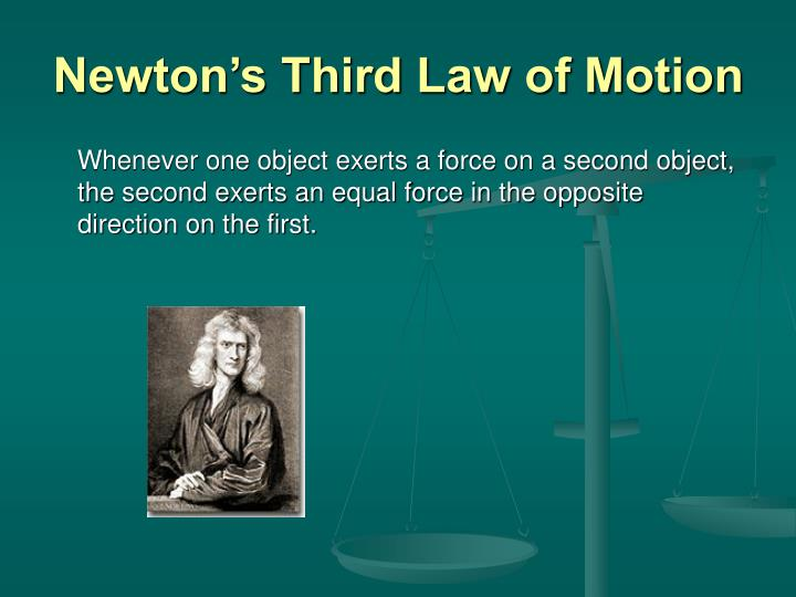 newton s third law of motion n.