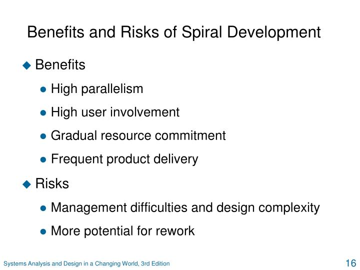 Benefits and Risks of Spiral Development