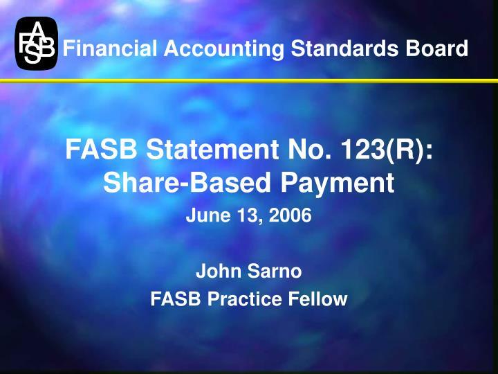 financial accounting standards board n.