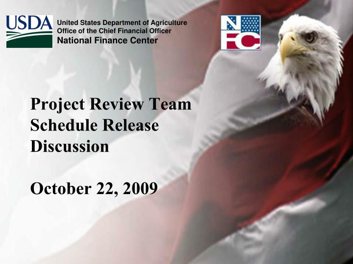 project review team schedule release discussion october 22 2009 n.