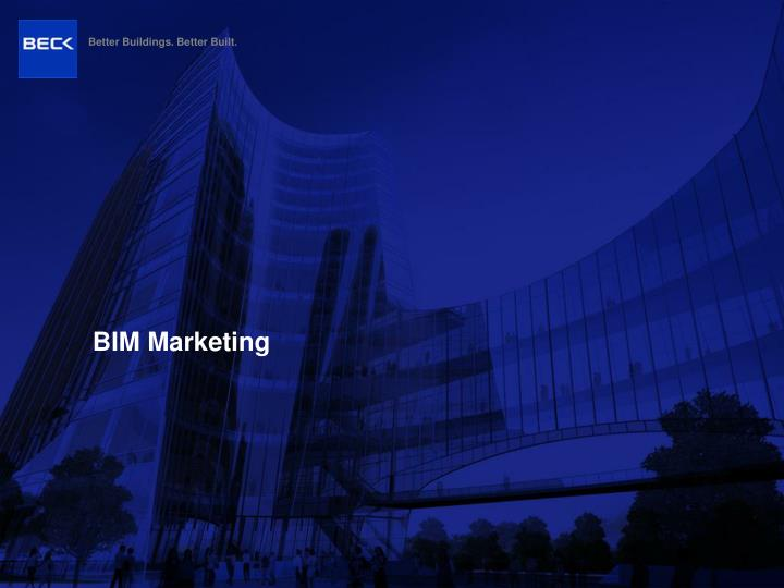 bim marketing n.