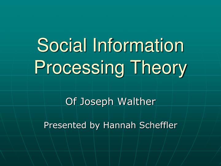 social information theory