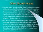 other growth areas