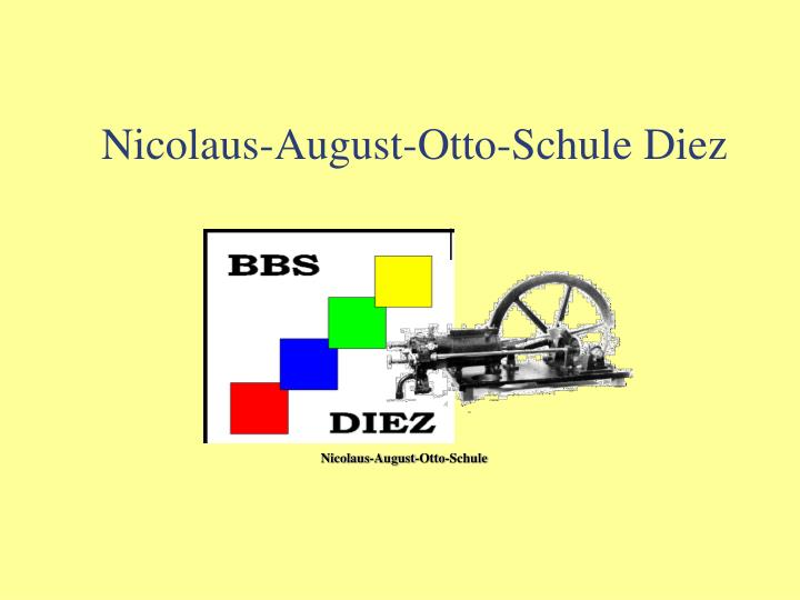 nicolaus august otto schule diez