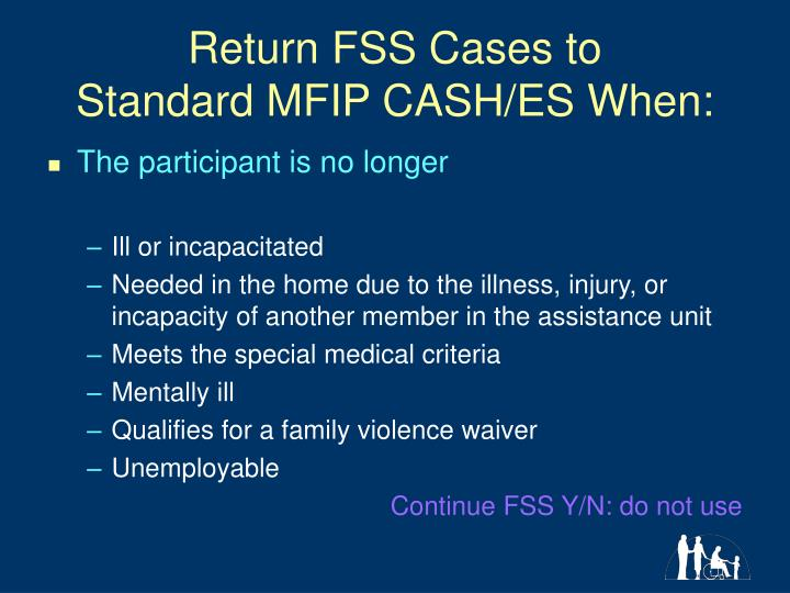 Return FSS Cases to