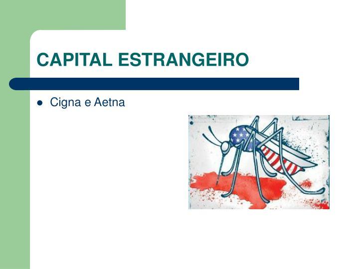 CAPITAL ESTRANGEIRO