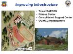 improving infrastructure1