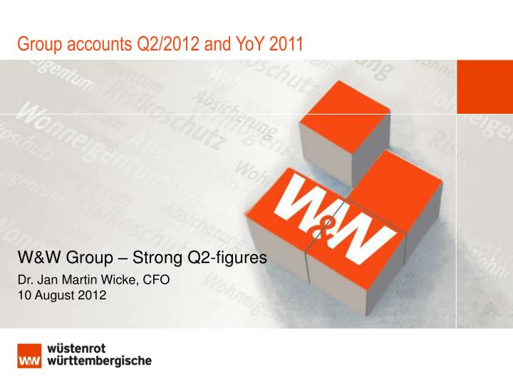 group accounts q2 2012 and yoy 2011 n.