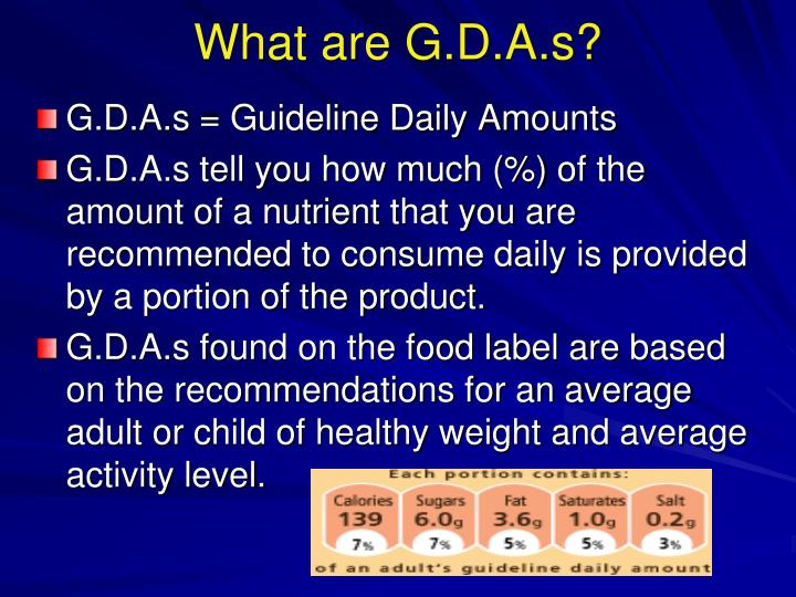 What are G.D.A.s?