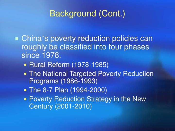 ultimate poverty reduction strategy social policy essay Zambia: poverty reduction strategy paper poverty reduction strategy papers (prsps) are prepared by member countries in broad consultation with stakeholders and development partners, including the staffs of the world bank and the imf.