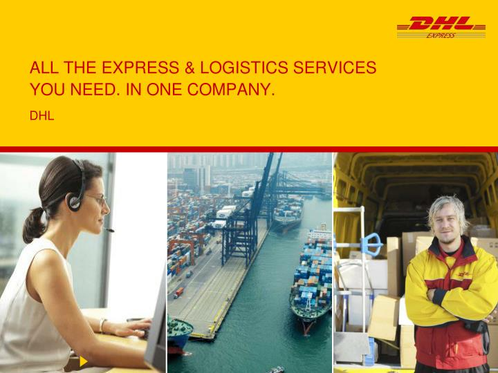 all the express logistics services you need in one company n.