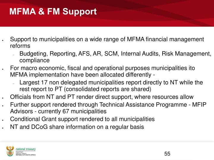 MFMA & FM Support