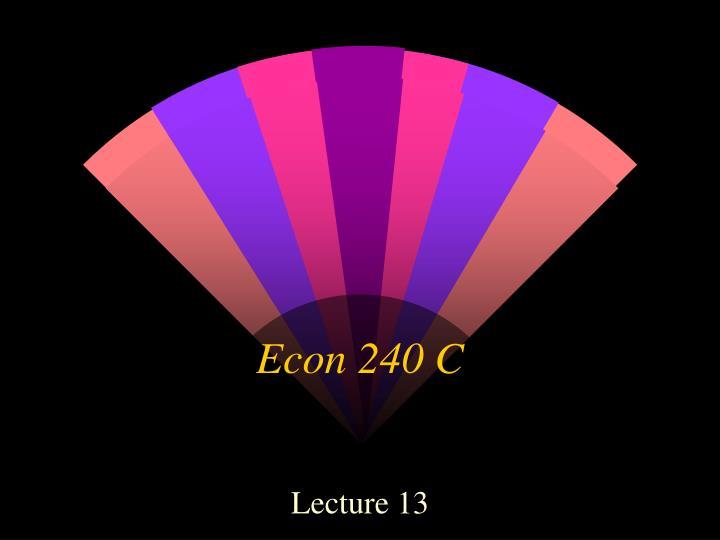 econ 240 c n.