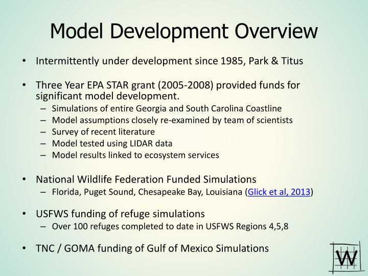 Model Development Overview