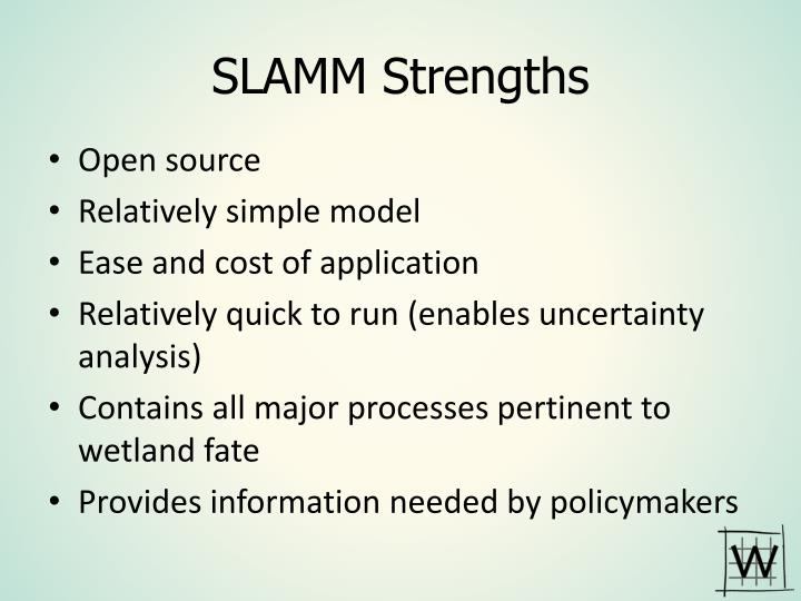 SLAMM Strengths