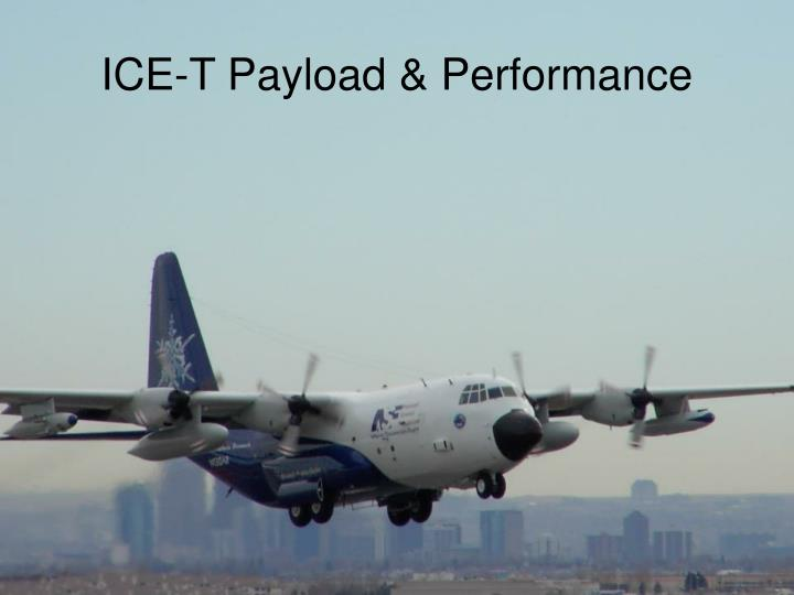 ice t payload performance n.