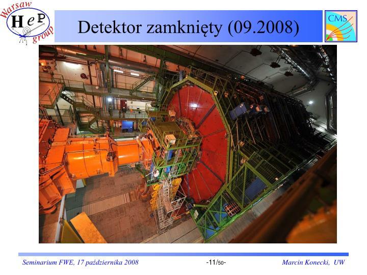 Detektor zamknięty (09.2008)